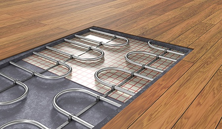 heated flooring